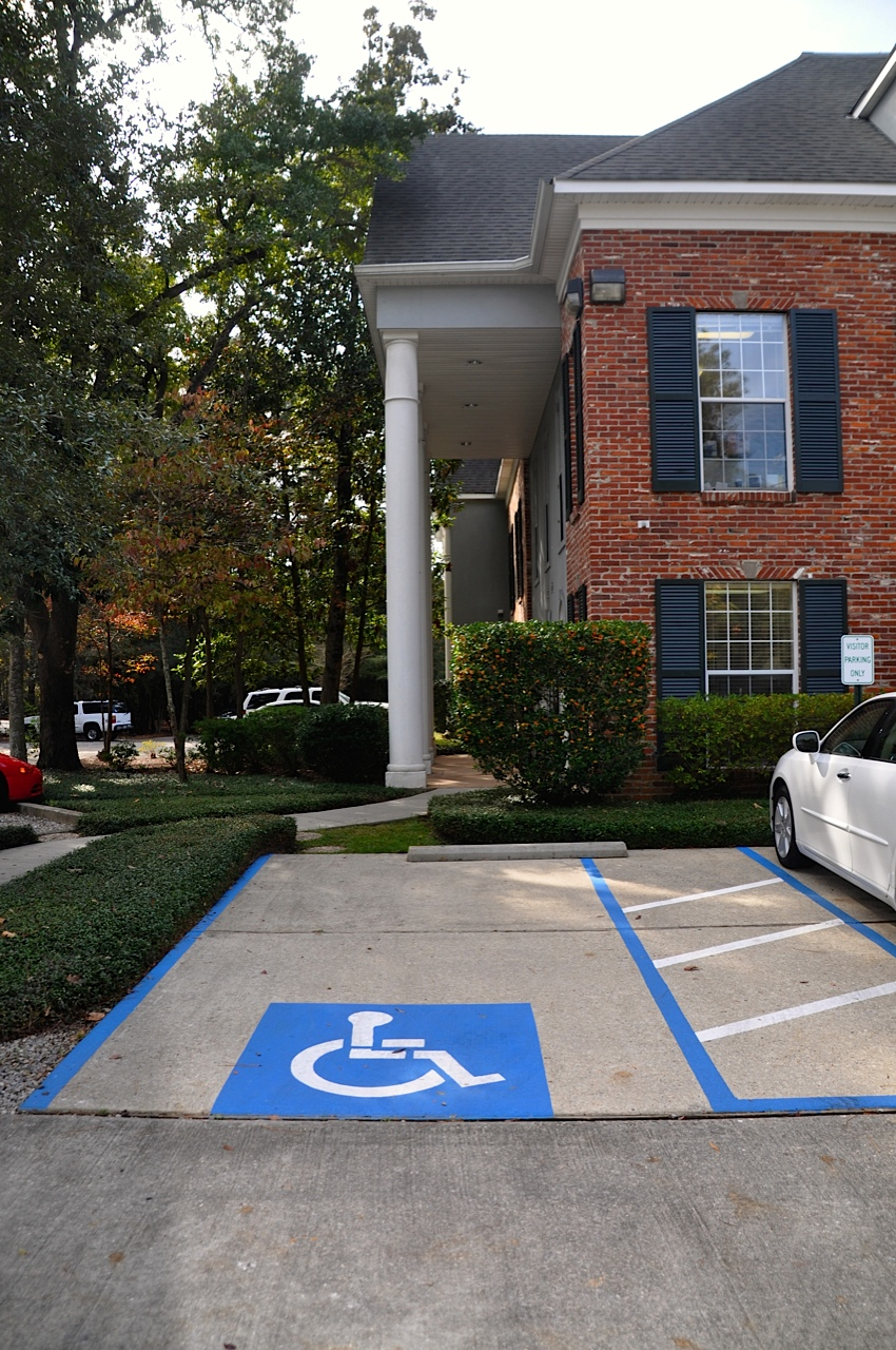 Side of Bldg Handicapped Parking